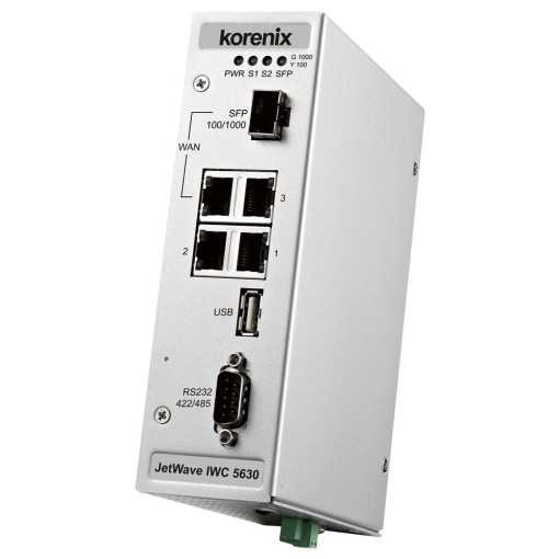 JetWave IWC 5630 Industrial-grade WLAN controller